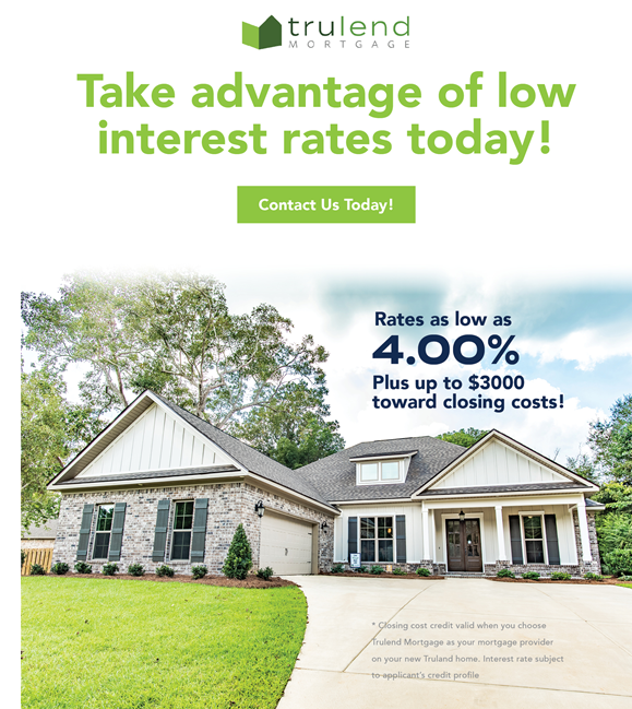 take advantage of low mortgage interest rates